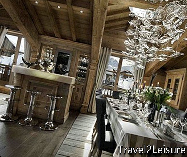 Chalet Pearl Courchevel Perancis, Alps Perancis