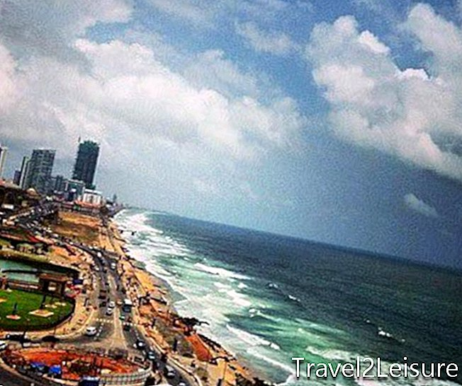 Galle Face Green in Colombo